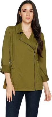 Halston H By H by French Terry Anorak Jacket