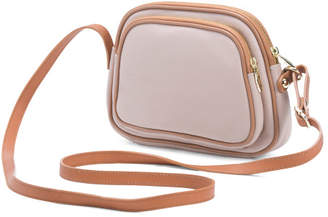 Made In Italy Multi Entry Leather Crossbody