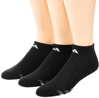 adidas 3-pk. Mens Athletic Cushioned No Show Socks - Extended Size