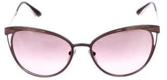Bvlgari Gradient Cat-Eye Sunglasses