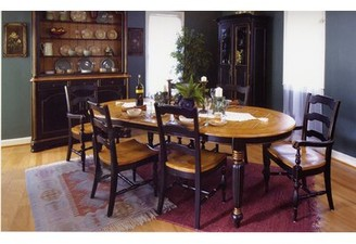 Bay Isle Home Spinelli Plank Top Solid Wood Dining Table Bay Isle Home