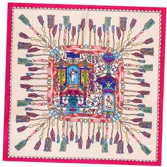 Mulberry Anshili Women's Silk Square Sarf