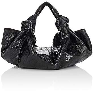The Row Women's The Ascot Small Python Bag