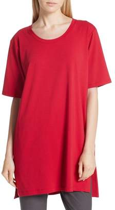 Eileen Fisher Stretch Organic Cotton Jersey Tunic
