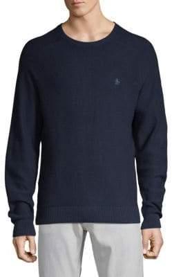 Original Penguin Saddle Raglan-Sleeve Sweater