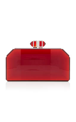Judith Leiber Couture Faceted Clutch