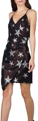 Adelyn Rae Giada Star-Sequins Sheath Dress