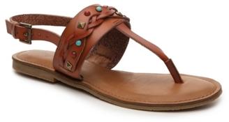 Zigi Soho Bevelyn Flat Sandal $80 thestylecure.com