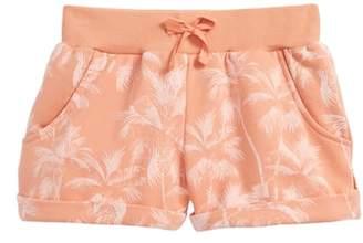 O'Neill Palm Print Fleece Shorts