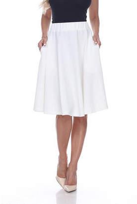 WHITE MARK White Mark 'Saya' Flare Skirt