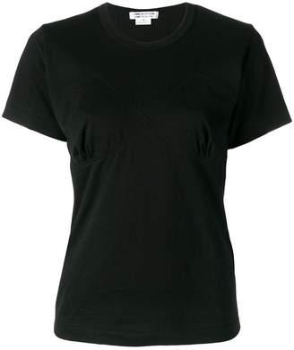 Comme des Garcons bustier detailed T-shirt