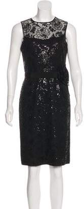 Teri Jon Embellished Sheath Dress