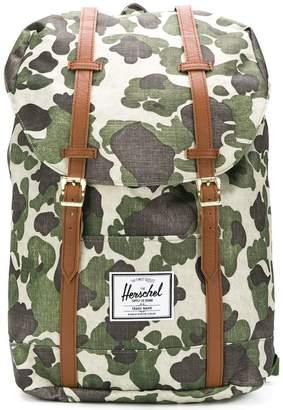 Herschel camouflage print backpack