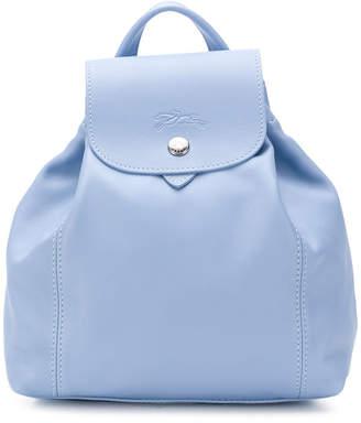 Longchamp snap fastening backpack