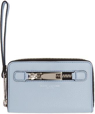 Marc Jacobs Blue Gotham City Wallet $155 thestylecure.com