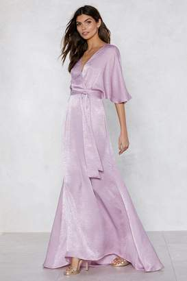 Nasty Gal Rise to the Occasion Maxi Dress