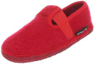 Haflinger Girls Slipper Joschi Slippers Red Rot (rubin 11) Size: