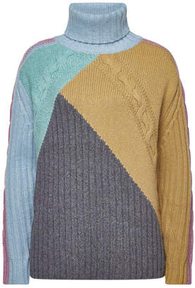 81 Hours Xanthia Extra Fine Wool Turtleneck Pullover