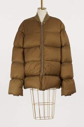 Rick Owens Oversize duvet coat