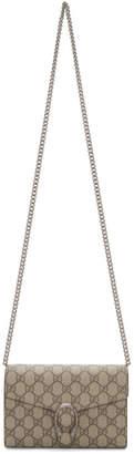 Gucci Beige GG Dionysus Wallet Bag