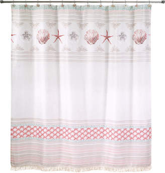 Avanti Coronado 72 X Graphic Print Applique Shower Curtain Bedding
