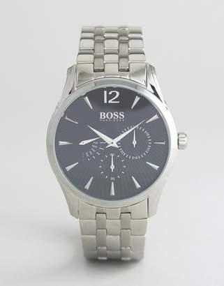 BOSS 1513493 Commander Bracelet Chronograph Watch In Silver