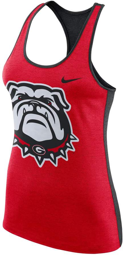 Women's Georgia Bulldogs Dri-FIT Touch Tank Top