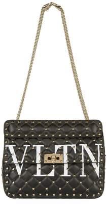 Valentino Medium Leather Rockstud Spike Chain Bag