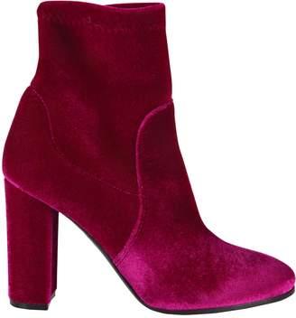 Via Roma 15 Stretch Velvet Boots
