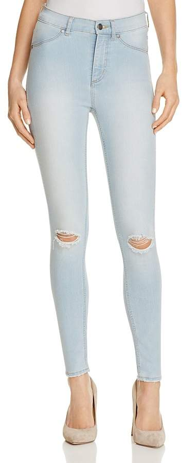 Cheap Monday Cheap Monday High Rise Spray Jeans in Rites