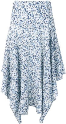 Stella McCartney flower print skirt