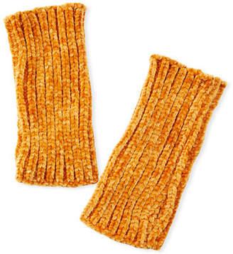 Rebecca Minkoff Rib Knit Chenille Arm Warmers
