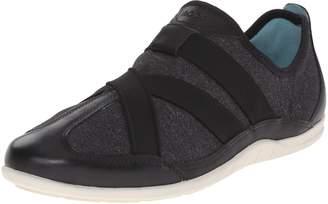 Ecco Shoes Women's Bluma Slip-on Black/White Sneaker 39 M
