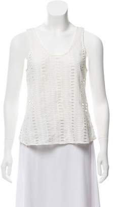 Creatures of Comfort Sleeveless Eyelet Top