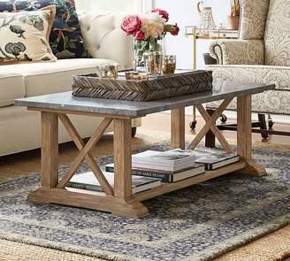 Pottery Barn Chamberlain Coffee Table