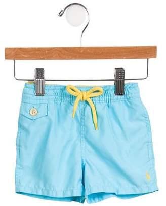 Ralph Lauren Boys' Three Pockets Swim Shorts w/ Tags