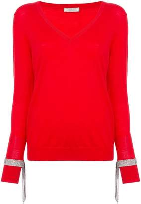 Nina Ricci crystal detailed jumper