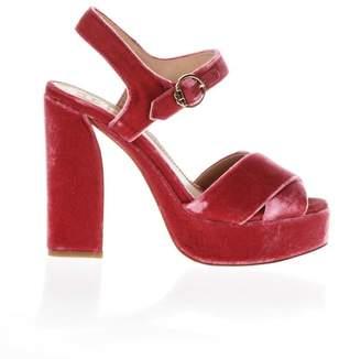 Tory Burch Loretta Velvet Sandals