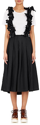 Comme des Garçons Comme des Garçons Women's Pleated A-Line Sleeveless Dress $1,635 thestylecure.com