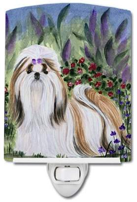 Shih Caroline's Treasures Tzu Ceramic Night Light