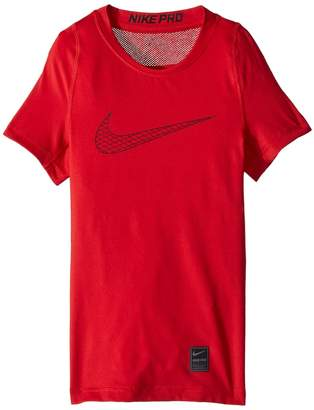 Nike Pro Fitted Short Sleeve Training Top Boy's Clothing