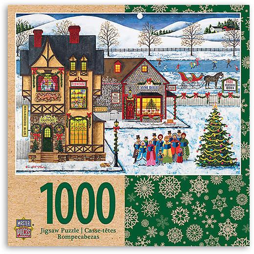Main Street Carolers 1,000-Piece Puzzle