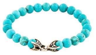 David Yurman Turquoise Spiritual Bead Bracelet