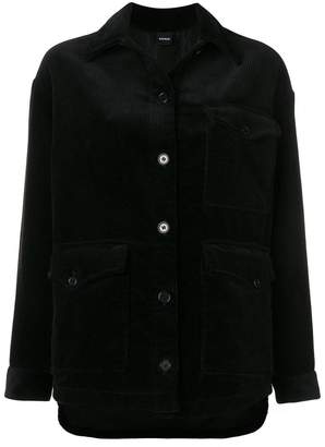 Aspesi Long corduroy jacket
