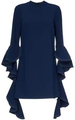 Ellery kilkenny frill sleeve mini dress