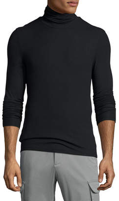 ATM Anthony Thomas Melillo Modal-Blend Ribbed Turtleneck