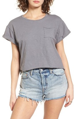 Women's Sun & Shadow Crop Tee $29 thestylecure.com