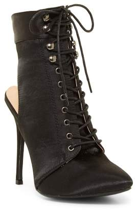 Chase & Chloe Chantelle Lace-Up Bootie