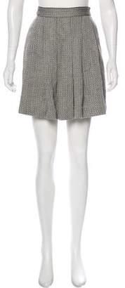 Billy Reid Textured Mini Skirt