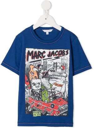 Little Marc Jacobs cartoon printed T-shirt
